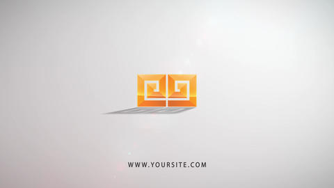 Digital Noise Logo After Effects Template
