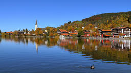 Schliersee Lake in Bavaria, Germany Footage
