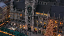 Christmastime in Munich, Bavaria Image