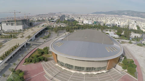 Faliro Olympic Indoor Hall in Greece - Tae Kwon Do Hall 1 Live Action