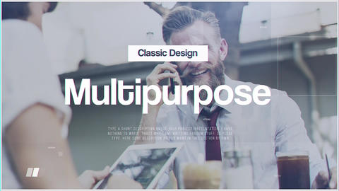 Corporate Minimal After Effects Template