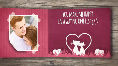 Valentine Carousel After Effects Template