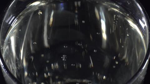 Macro glass of champagne Archivo