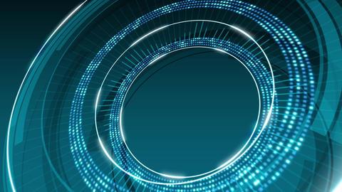 Circle Background 03 CG動画素材