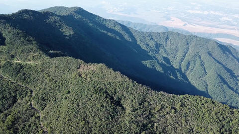 DJI MAVIC 4K Taiwan Pingtung Aerial Drone Video Baibin Mountain Liouli bridge Image