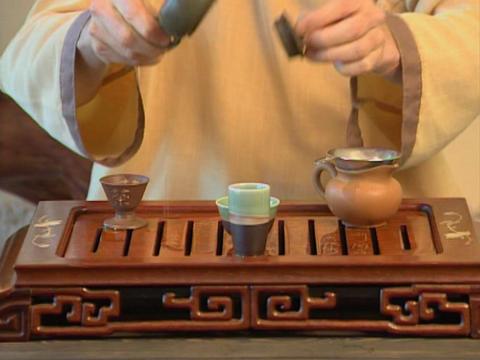 Episode 03#, Tea ceremony Footage