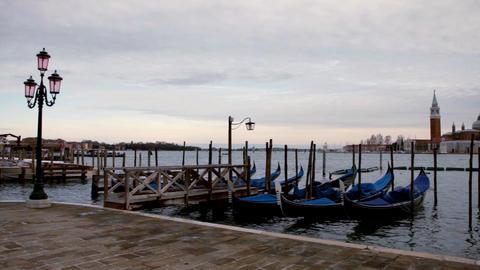 Gondola service in Venice, Venezia Live Action
