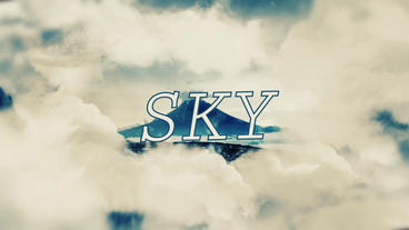 Sky Slideshow After Effects Projekt