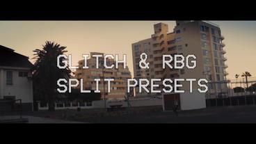 VHS & Glitch Presets Premiere Pro Template
