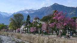 Merano in South Tyrol, Italy, Europe Archivo