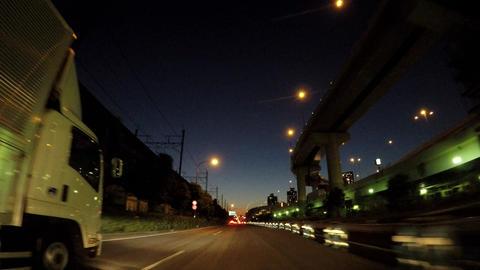Tokyo city scenery. Nation's highway. Near Tatsumi Archivo