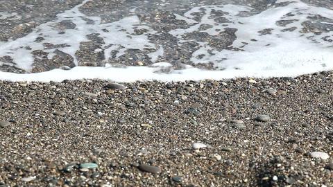 walking along the seashore Footage