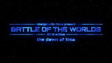 Intergalactic Title Motion Graphics Template