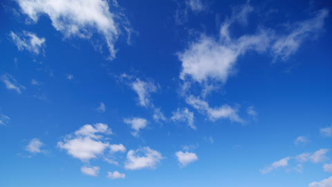 Timelapse - Blue sky and clouds movement ビデオ