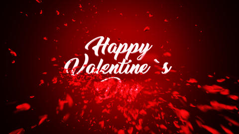 Valentine's Day After Effects Template