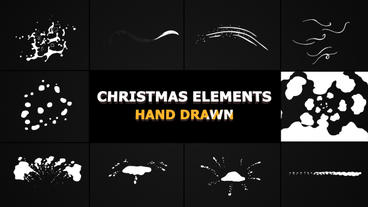 Christmas Elements After Effects Template