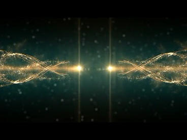 In the dark space, the particle beam strikes the AE template of the gorgeous After Effects Template