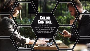 Hexagon Corporate Plantilla de After Effects