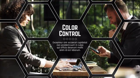 Hexagon Corporate After Effects Template