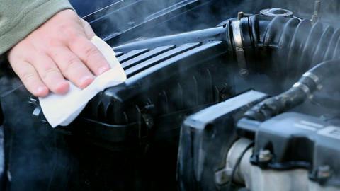 motor vehicle washing Image