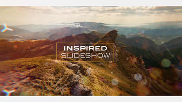 Inspired Slideshow Plantilla de After Effects