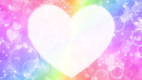 heart background loop Animation
