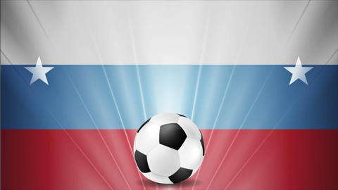 Soccer World Cup 2018 in Russia video animation Image
