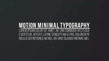 Clean Simple Titles After Effects Templates