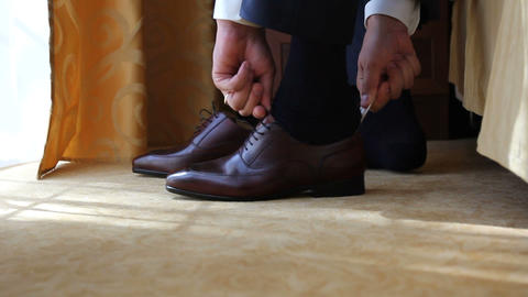 groom dress shoes Live Action