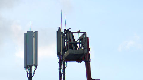 5G Network expansion, mobile phone expansion Live Action