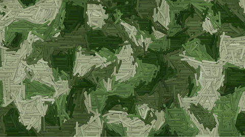 Animated dashes camouflage background CG動画素材