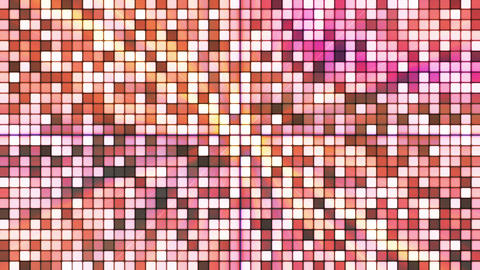 Broadcast Twinkling Hi-Tech Cubes, Brown, Abstract, Loopable, HD Animation