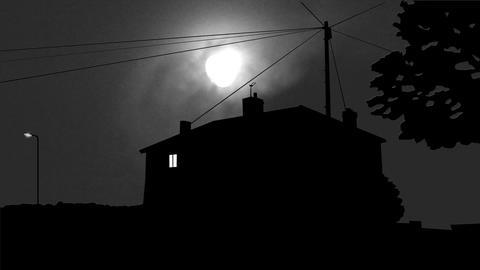 Spooky House Animation