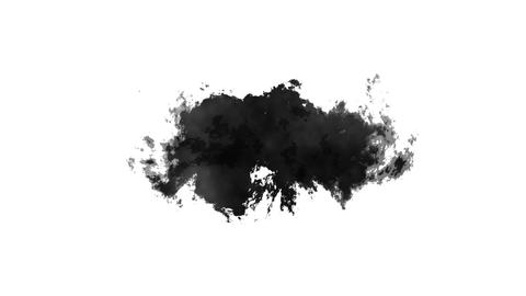 Ink style mattes, Stock Animation