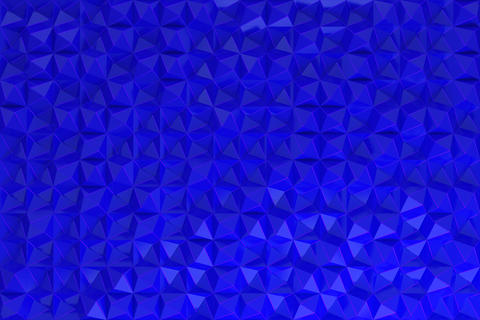 Pattern of blue pyramid shapes Foto