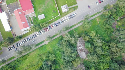 Cathedral of the Holy Archangel Michael. Izhevsk, Russia, From Dron, HEAD OVER Footage