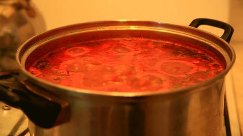 Vegetable sauce Footage