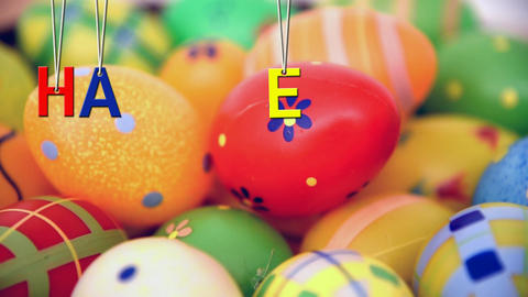 Happy Easter Stock Video Footage