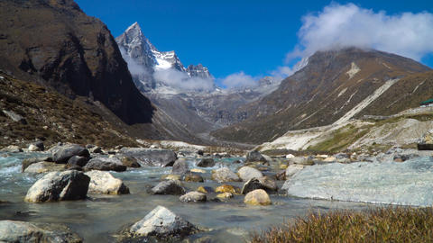 Stream in the Himalayas Footage