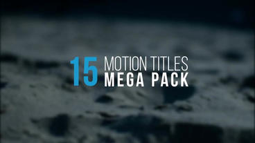 Great Titles Pack After Effects Templates