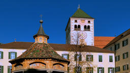 Neustift Monastery in Brixen, South Tyrol, Italy Footage