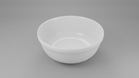 Soup Bowl 3D Model 3D Model