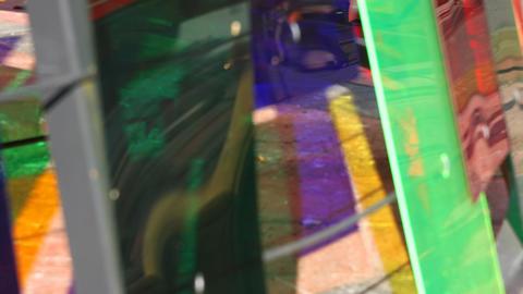 Urban color perspective Footage