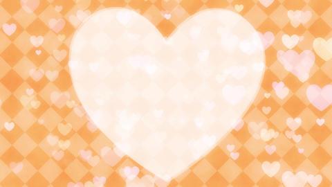 heart background loop CG動画