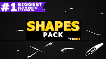 Funny Shapes After Effects Template