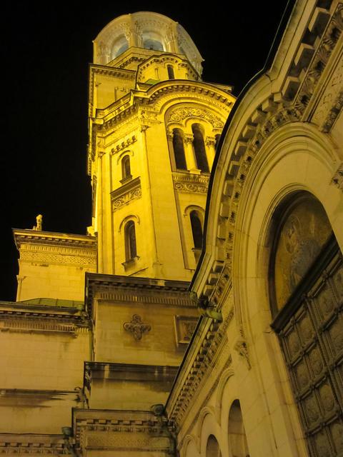 Sofia at night, details Photo