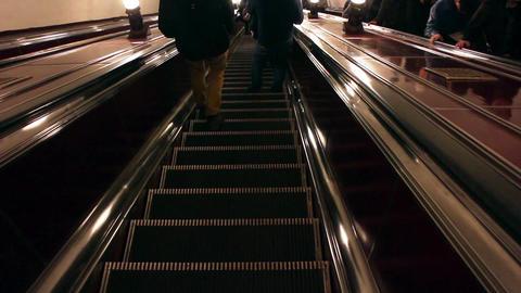 Stairs down underground Footage