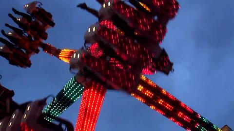 Ride On Fair stock footage