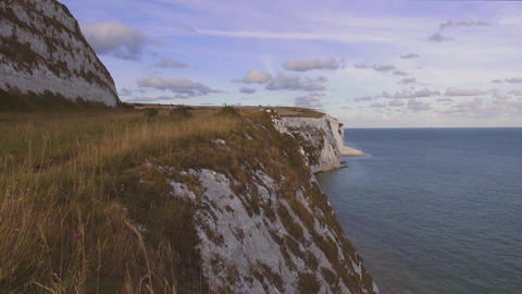 The beautiful white cliffs of Dover Live Action