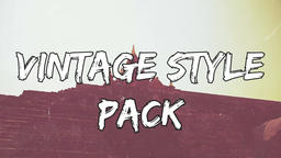 VINTAGE style pack Premiere Proテンプレート